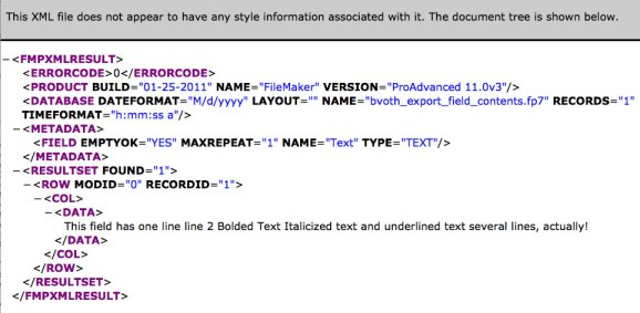 XML with default stylesheet in browser