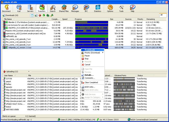 emule-p2p-client