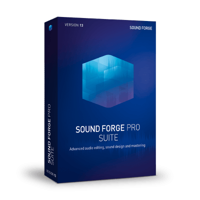 MAGIX SOUND FORGE Pro Suite 13.0 Crack