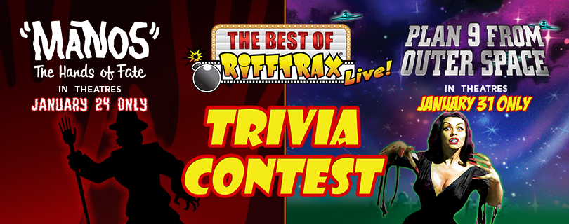 Best of RiffTrax Trivia Sweepstakes