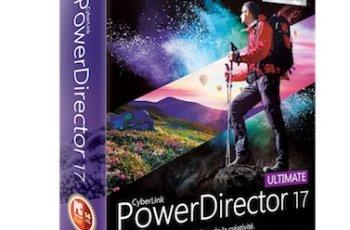 CyberLink PowerDirector Ultimate Crack v17.6.3125.0 [Full]