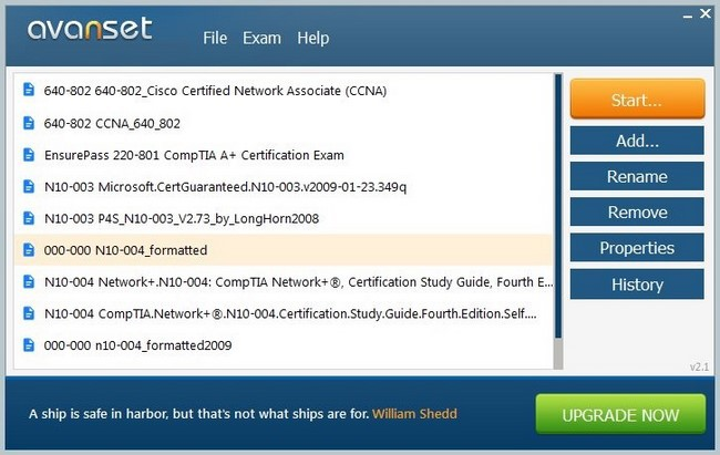 Avanset VCE Exam Simulator Crack