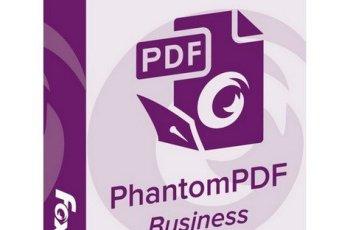 Foxit PhantomPDF Business 9.7.1.29511 + Full Crack