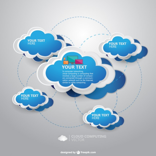 A cloud service is any service made available to users on demand via the internet from a cloud computing provider's servers. Cloud Computing Template Free Vector