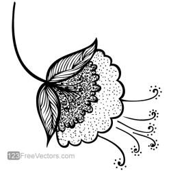 Vector Flower Clip Art