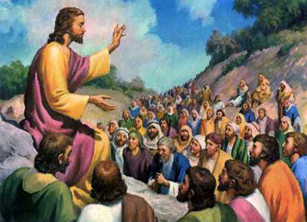 Image result for Sermon on the mount pictures