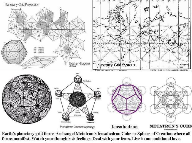 Sacred Geometry, Ley Lines and the Planetary Grid, page 1