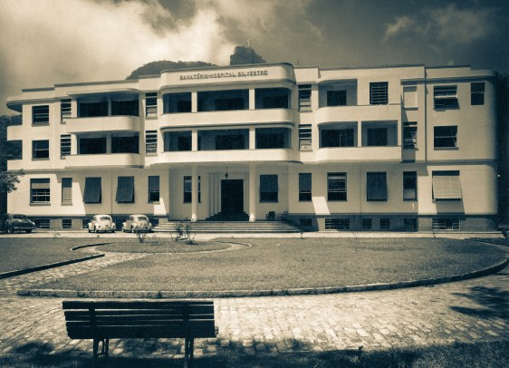Hospital Adventista Silvestre. Primeiro prédio concluído em 1950 - Rio de Janeiro, BRASIL