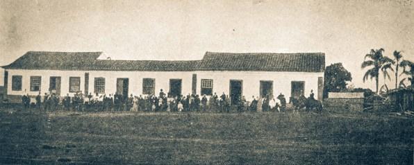 Primeira gráfica da Igreja Adventista do Sétimo Dia no Brasil em 1905 - Taquari, BRASIL