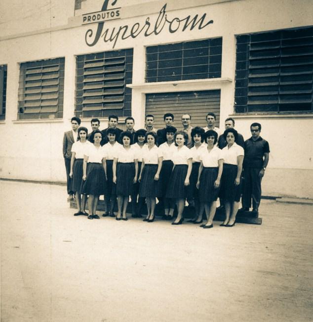 Funcionários pioneiros da Superbom - São Paulo, BRASIL