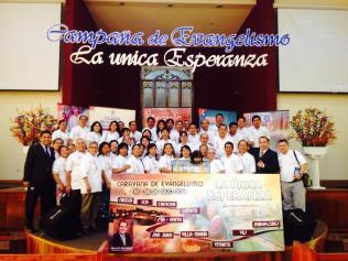 La Iglesia Adventista en Lima unida a la caravana.