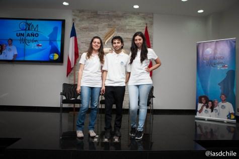 Graciela, Daniel y Karina. Tres valientes que hoy dedican sus vidas al servicio de Dios. ©Alfredo Müller