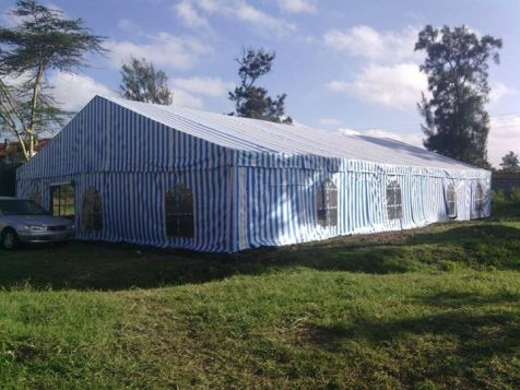 Iglesia de Mbotela, Makongeni, en Quenia, es en forma de tienda.