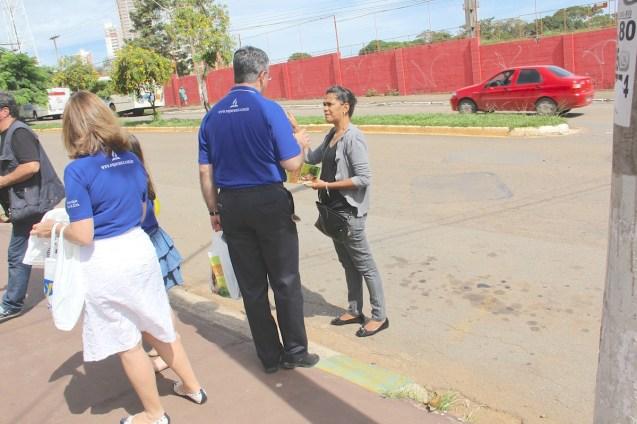 Impacto esperanza en Goiania, Brasil.