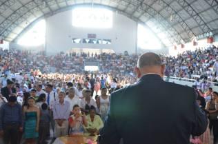 Pr. Alejandro Bullón en el Auditorium de la Universidad Agraria de Guayaquil