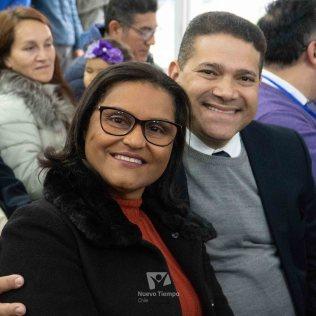 Matrimonios desde Brasil, participando del Encuentro Huellas.