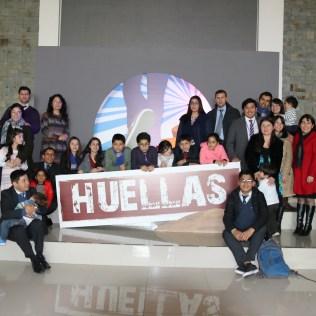 Pioneros del movimiento Huellas en Chile, con la IASD Chiguayante.