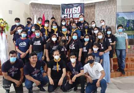 Jóvenes de la IASD de la Peninsula (Foto: Manuel Vinueza)