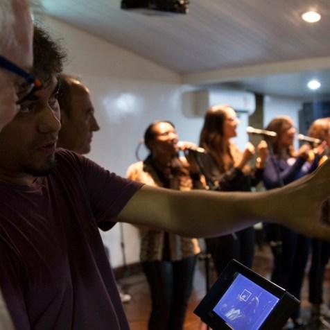 No caso da Igreja Adventista, as entrevistas foram gravadas em São Paulo, Bahia, Amazonas e Paraná.