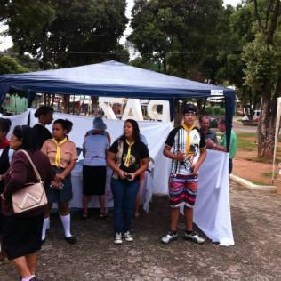 Feira na cidade de Ipanema