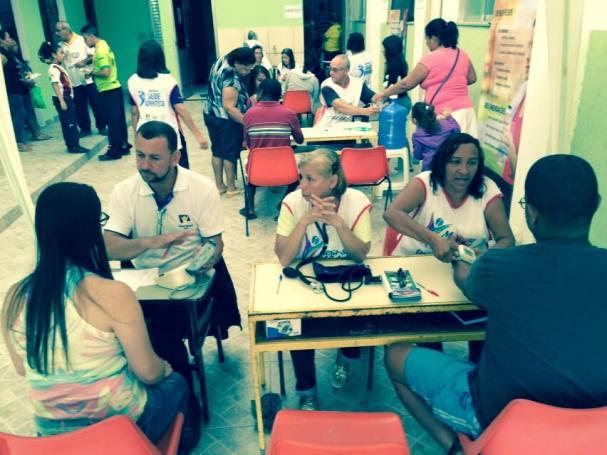 Feira de Saúde em Venda das Pedras, Itaboraí.