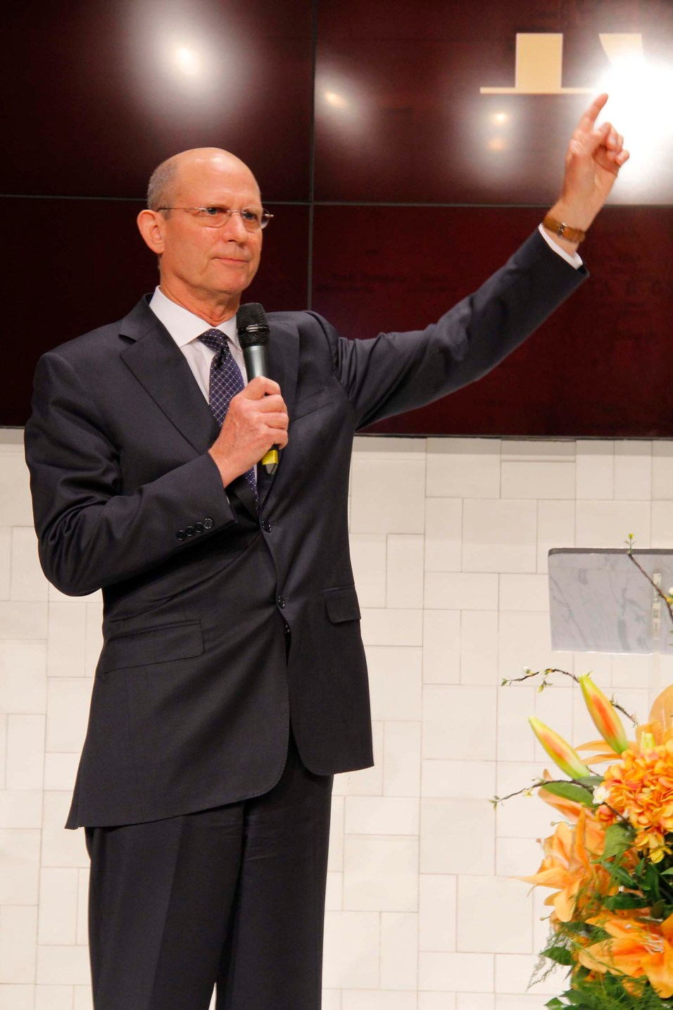 Pastor Ted Wilson, presidente mundial da Igreja Adventista, estimulou líderes a manter o foco no missão