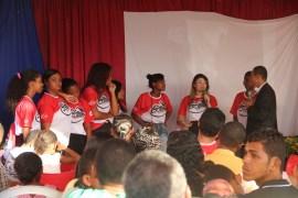 Equipe Calebe que realizou o trabalho em Berimbau 2 (Foto: Alexon Demétrio)