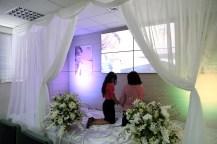 No escritório da ARF os colaboradores fizeram uma escala de oração.