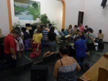 Em Macaé, as reuniões aconteceram a partir das 5h da manhã.