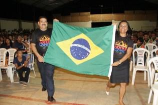 Pr. Renato e sua esposa Neiza Seixas representaram a seleção do Brasil no evento