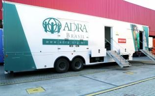 Caminhão é o primeiro a oferecer cozinha e lavanderia em uma única estrutura