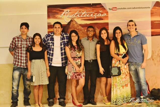 Além da Igreja do Marco, de onde era transmitida, a semana alcançou jovens em 1500 pontos nos estados do Pará, Amapá e Maranhão.