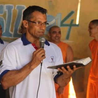 Armando é missionário voluntário no presídio