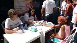 Participantes agradeceram iniciativa de jovens vindos de outros cinco países (Foto: Tatiana Buitrago)