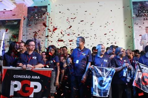 A celebração também comemorou as conquistas de 2016.