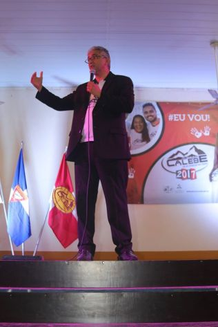 Pastor Williams César motivou os líderes