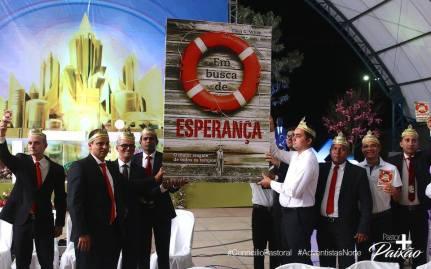 Novo livro missionário foi apresentado aos pastores da União Norte.