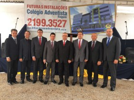 Administradores da União Sudeste Brasileira e Associação Rio Sul