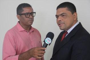 Pr. Alexandre em entrevista à uma emissora local