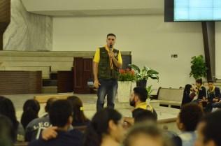 Regional faz palestra sobre cerimônias durante EROI