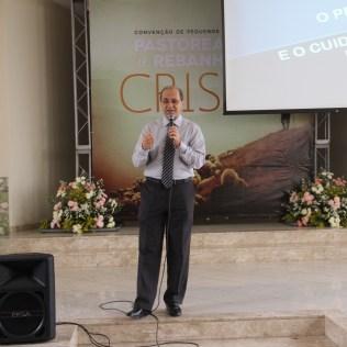 Pastor Eber Liessi, líder da Igreja Adventista no Sul da Bahia