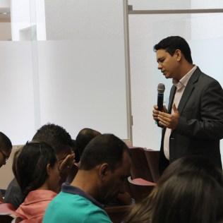 Líder de Evangelismo para o sul da Bahia, Pastor Jucimar Noya