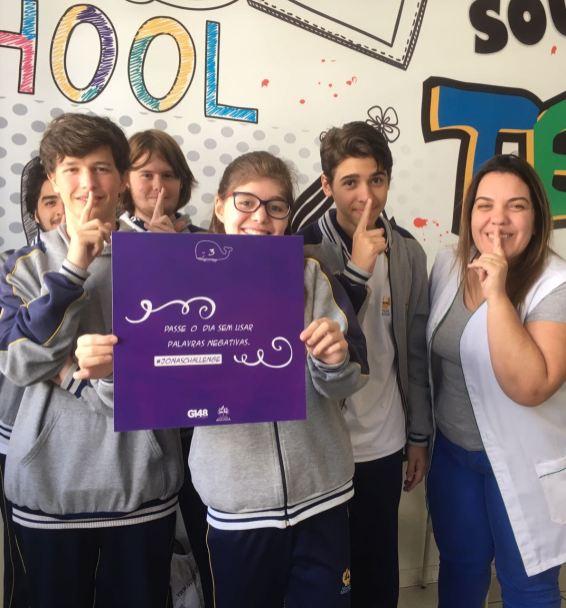 Jonas Challenge está fazendo sucesso entre os alunos