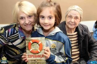 Livro Em Busca de Esperança foi distribuído