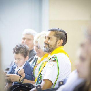 Programa reuniu igrejas e clubes de desbravadores da região. [Foto: Juliano Sousa Oliveira]