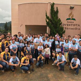 Fiéis de Presidente Getúlio (SC) no Impacto Esperança 2017