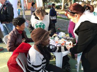 Feiras de saúde estimularam a comunidade a criar novos hábitos de vida