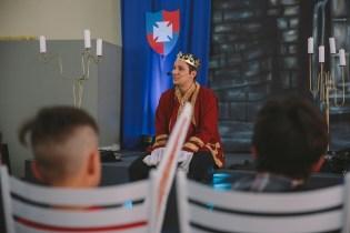 Congresso usou a temática medieval para chamar a atenção dos adolescentes.