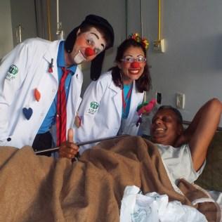 Eles fazem a alegria dos pacientes, adultos e crianças.