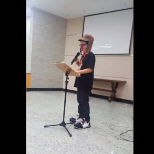 Yan ou Dr. Pirulito, fez a leitura do juramento.